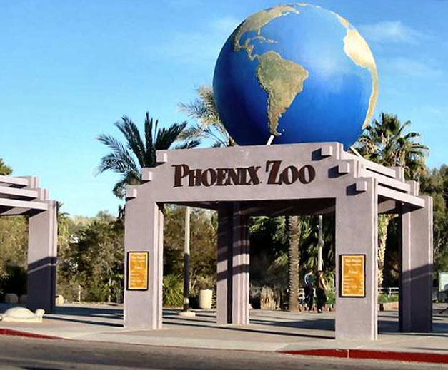 Arthrob 187 Phoenix Zoo Entrance Sign